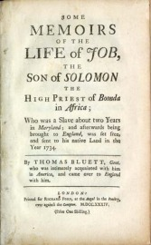 Copy of Bluett's Book at the University of North Carolina at Chapel Hill,