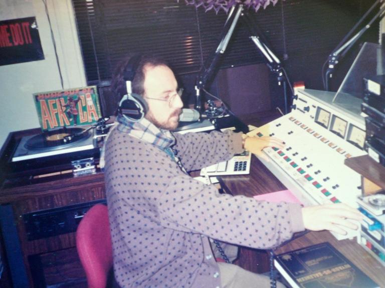 Bassam Helwani, host of Daily Radio Program on KKFI Radio Station