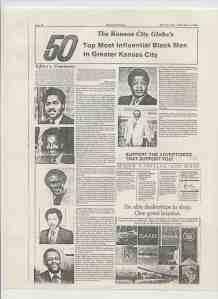 50 Top Most Influential Black Men in Kansas City